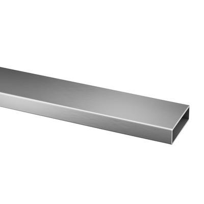 Q-Railing - Rectangular tube, 60x20x2 mm, L=2500 mm, stainless steel 316 exterior, satin
