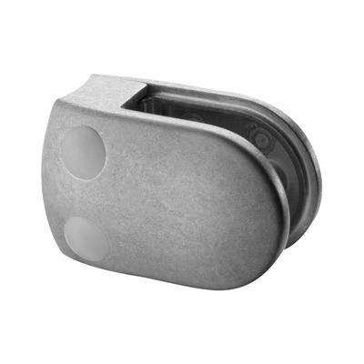 Q-Railing - Glass clamp, MOD 28, excl. rubber inlay, tube Dia 48.3 mm, zamak, raw [PK4]- [10280004800]