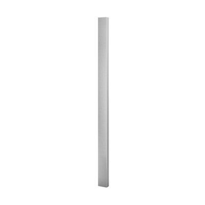 Q-Railing - Tube for baluster post, Square Line, 60x30x2.6 mm, H=1250 mm, stainless steel 316 exterior, satin