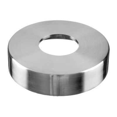 Q-Railing - Cover cap for welding flange MOD 3502, tube Dia 48.3 mm, Dia 120 mm, stainless steel 316 exterior, satin [PK2]