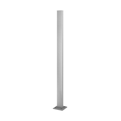 Q-Railing - Baluster post, Square Line, 60x30x2.6 mm, H=1000 mm, stainless steel 316 exterior, satin
