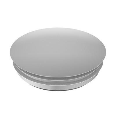 Q-Railing - Blind plug, Easy Glass Smart & Prime, fascia mount, plastic, aluminium RAL 9006 [PK10]