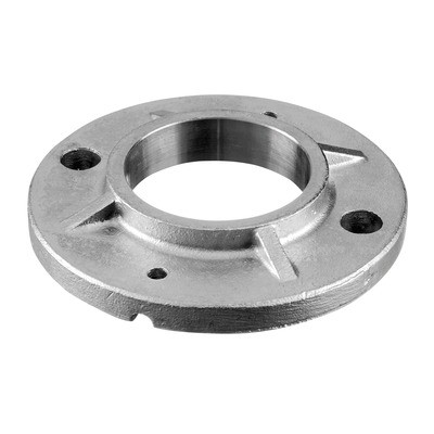 Q-Railing - Welding flange, tube Dia 48.3 mm, round, 120 mm, stainless steel 304 interior, untreated [PK2]- [13094104800]