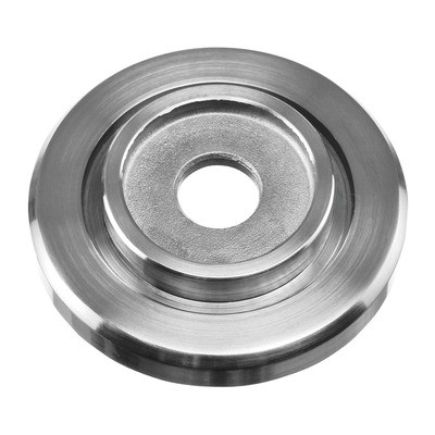 Q-Railing - Rosette, tube Dia 42.4 mm, round, 60 mm, stainless steel 304 interior, satin [PK2]- [13050104212]