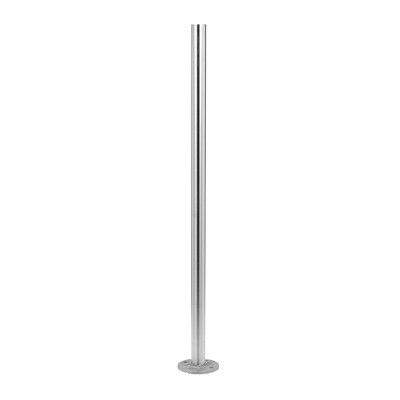 Q-Railing - Baluster post, MOD 0921, Dia 42.4 mm x 2 mm, H=989 mm, stainless steel 316 exterior, satin