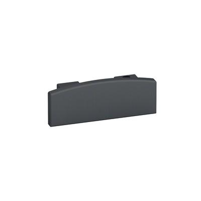 Q-Railing - End cap, Easy Hit, for handrail Easy Alu,aluminium, anthracite grey RAL 7016 [PK2]- [16573207033]