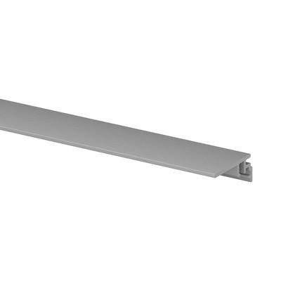 Q-Railing - Trim, floor connect, EG Smart/Prime, top/fascia,L=5000 mm, brushed aluminium, anodized