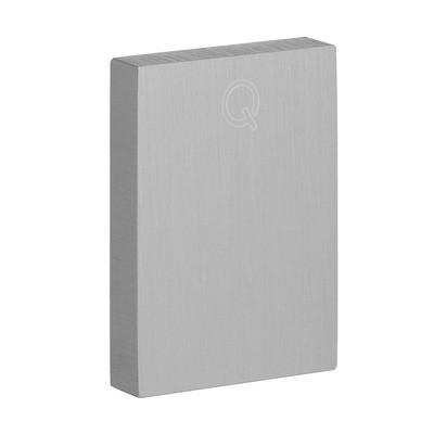 Q-Railing - End cap, Easy Hit, Easy Glass View, top, aluminium, raw [PK2]- [16673402300]