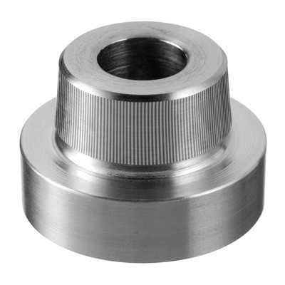 Q-Railing - Adapter for glass adapter Q-spider, flat, stainless steel 304 interior, satin [PK2]