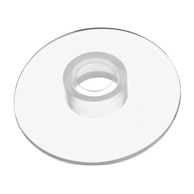 Q-Railing - Rubber ring for glass adapter, Dia 28 mm, transparent, 2 mm thickness [PK8]