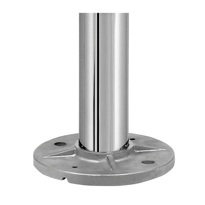 Q-Railing - Baluster post, MOD 0914, Dia 42.4 mm x 2 mm, H=970 mm, stainless steel 316 exterior, polished - [14091424210]