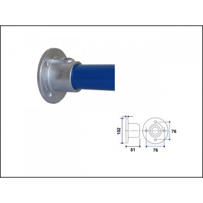 Interclamp 131-C42 - Wall Flange