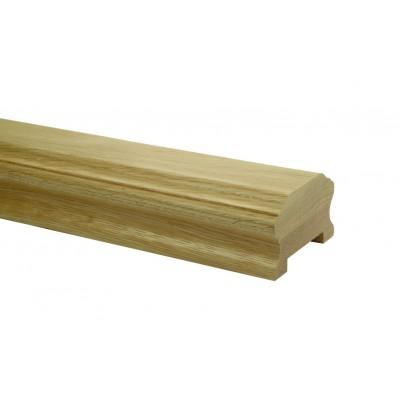 Richard Burbidge WOHCHR4200 Heritage Handrail 4200mm - White Oak [55mm]