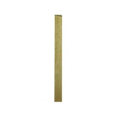 Richard Burbidge WONB510HALF White Oak Newel Base 90x43x510mm - Half