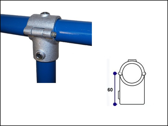 Clamp on Tee (2 Bolt)