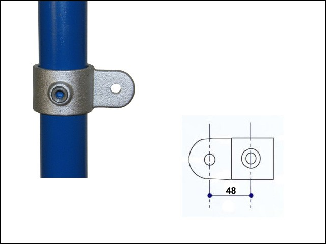 Single Swivel Combination Male Part