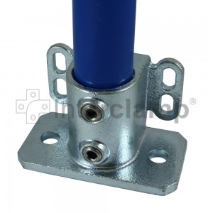 Interclamp 242-C42 - Base Flange with Toe Board Fixing