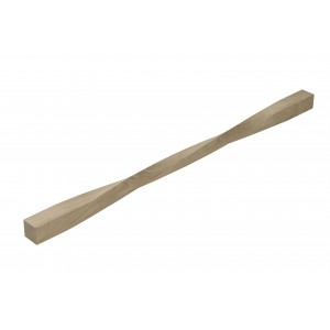 Richard Burbidge WOTS090U Trademark White Oak Twisted Spindle 41 x 41 x 900mm