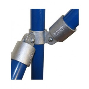 Interclamp 168-A27 - 90 degree Corner Double Swivel Combination