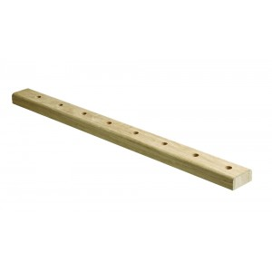 Richard Burbidge Elements BRL2400WO White Oak Landing Baserail - 2400mm