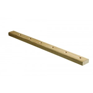 Richard Burbidge Elements BRR2400WO White Oak Stair Baserail - 2400mm