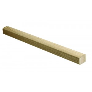 Richard Burbidge Elements HRL3600WO White Oak Landing Handrail - 3600mm