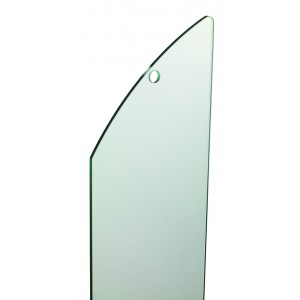 Richard Burbidge MMGPR1 Fusion Glass Panel - Stairs (single)
