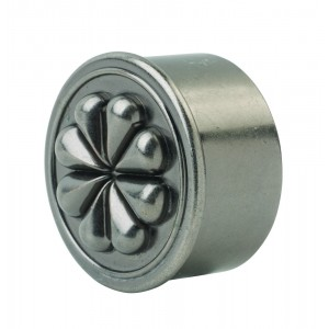 Richard Burbidge RHR04PE Handrail End Cap - Petal Pewter 54mm