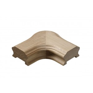 Richard Burbidge WOHCHC Heritage Handrail Horizontal Cap - White Oak