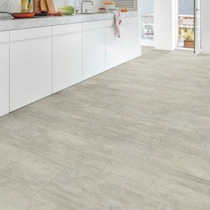 Quick-Step Luxury Vinyl (LVT) Livyn Ambi Click Light Grey Travertin 2.08m2 - AMCL40047