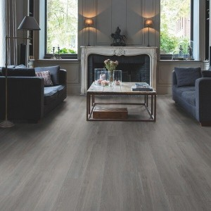 Quick-Step Luxury Vinyl (LVT) Livyn Bal Click Silk Oak Dark Grey 2.105m2 - BACL40060