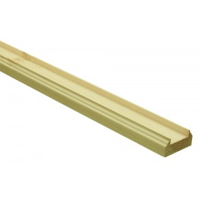 Richard Burbidge BR2400/32PS Trademark Pine Baserail for 2400/32mm