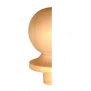 Half Staircase Newel Cap - Half Ball Cap