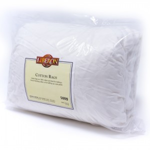 Liberon Cotton Polishing Rags 500g