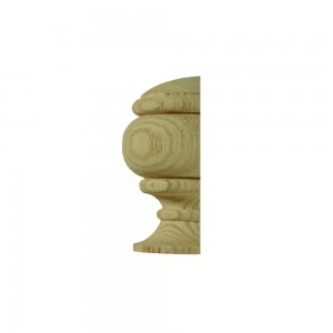 Richard Burbidge CWONC1HALF Classic White Oak Newel Cap Half
