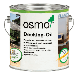 OSMO Decking Oil Clear 750ml