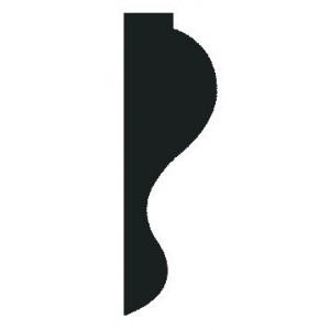 Richard Burbidge DEC6025 - 24 PINE DECORATIVE 8 30 2400 [PK 24] - previously FB494