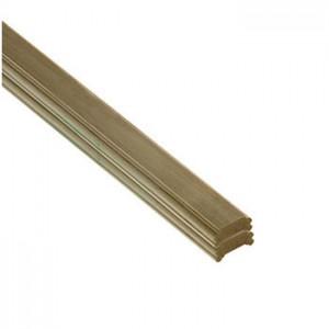 Cheshire Mouldings DHNEW1.8 Core Deck Pine Universal Rail 1795x75x38mm