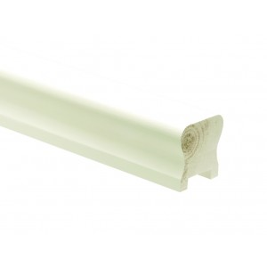 Richard Burbidge HDR2400/32W Trademark Primed Handrail Heavy Duty 2400/32mm