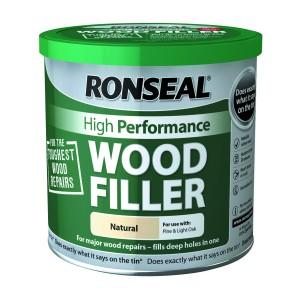 Ronseal High Performance Wood Filler 550gm Natural