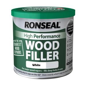 Ronseal High Performance Wood Filler 550gm White