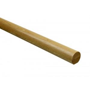 Richard Burbidge RHR3600WO Fusion White Oak Handrail 3600 x 54mm dia.