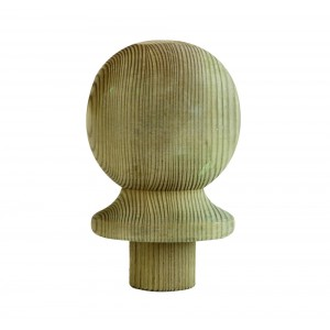 Richard Burbidge LD203 Treated Softwood Ball Newel Cap
