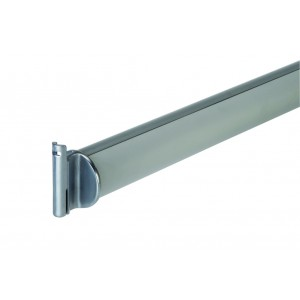 Richard Burbidge LD500 Contemporary Fusion Outdoor Aluminium Support Handrail with Brackets 1800mm