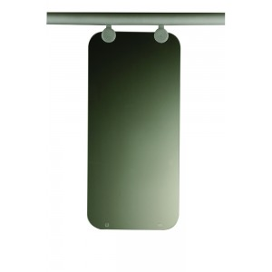 Richard Burbidge LD584 Fusion Commercial and Contemporary Small Glass Panel and Brackets
