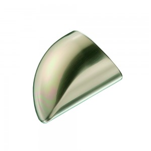 Richard Burbidge MMWECB Fusion Brushed Nickel Handrail End Cap