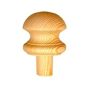 Staircase Newel Cap - Mushroom Cap
