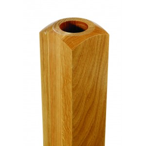 Richard Burbidge NB400WOF Fusion Commercial White Oak Newel Base 90x400mm