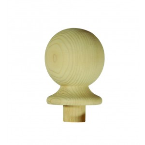 Richard Burbidge NC2/90P Trademark Pine Newel Cap Ball 90mm