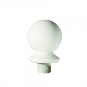 Richard Burbidge NC2/90W Trademark Primed Ball Newel Cap 90mm